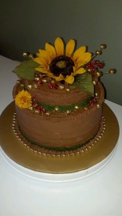 Sunflower Birthday Cakes