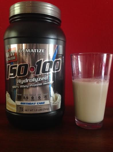 A Modest Review Of Dymatize Nutritions Iso 100 Birthday