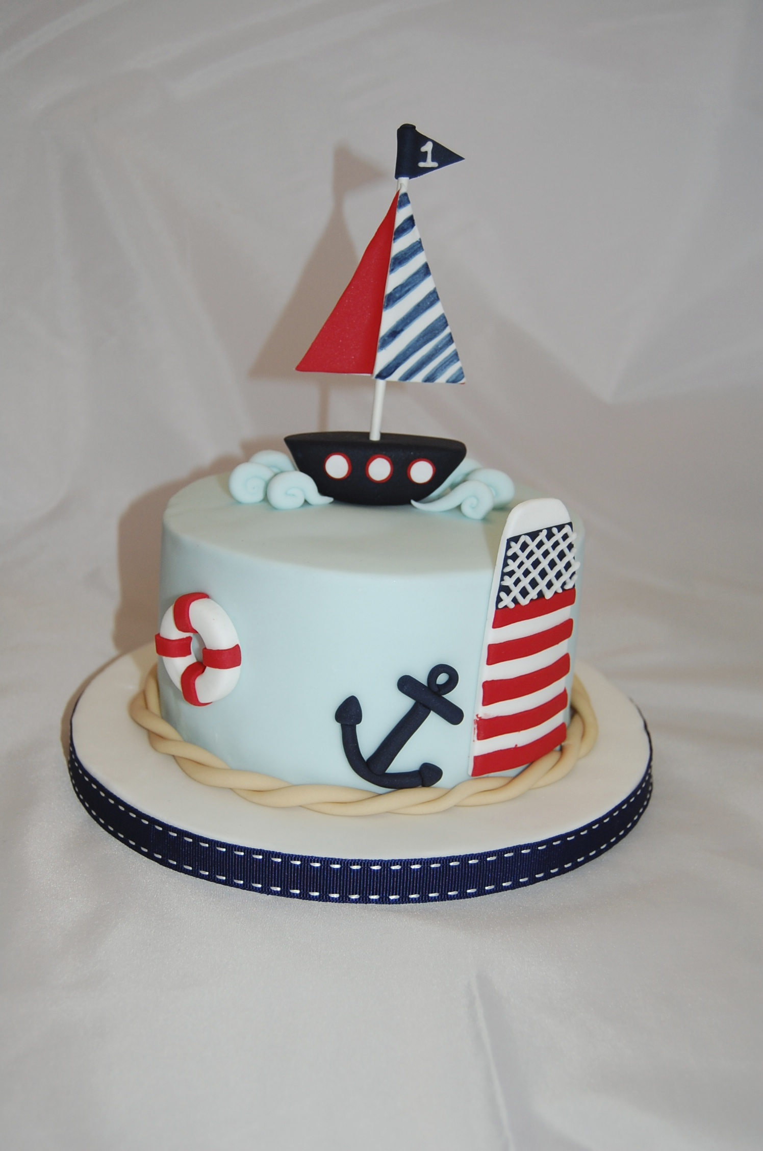 Nautical Birthday Cakes