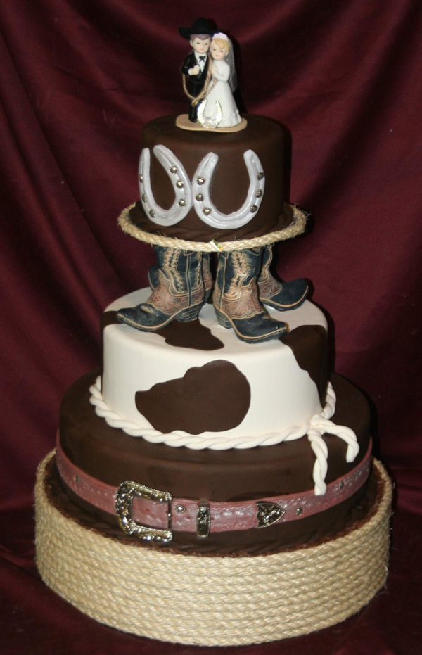 amazing Cowgirl Wedding Ideas Part - 15: Cakes Discovery Engine