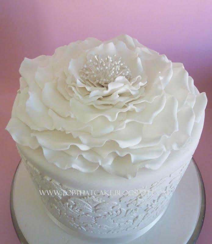White Birthday Cakes