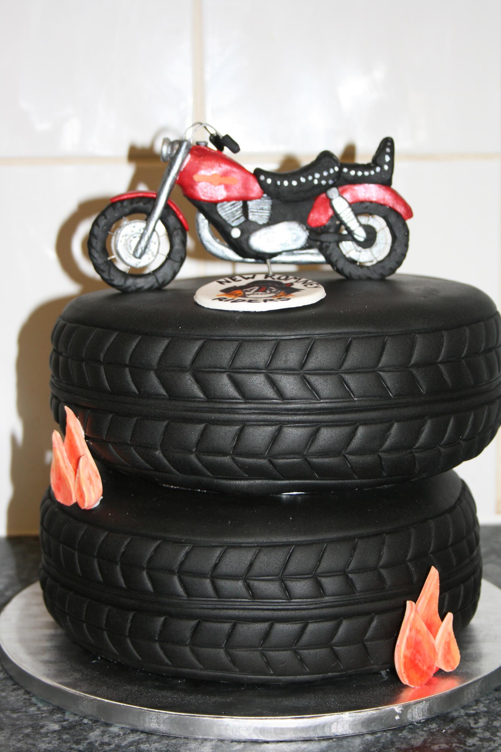 Biker Birthday Cakes