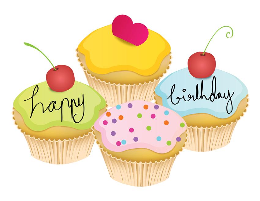 Muffin Birthday Cakes