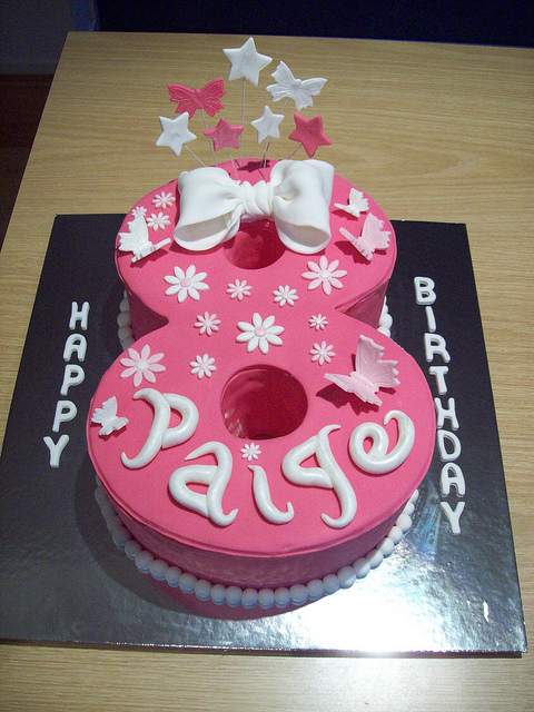 Girls 8th Birthday Cake Ideas And Designs
