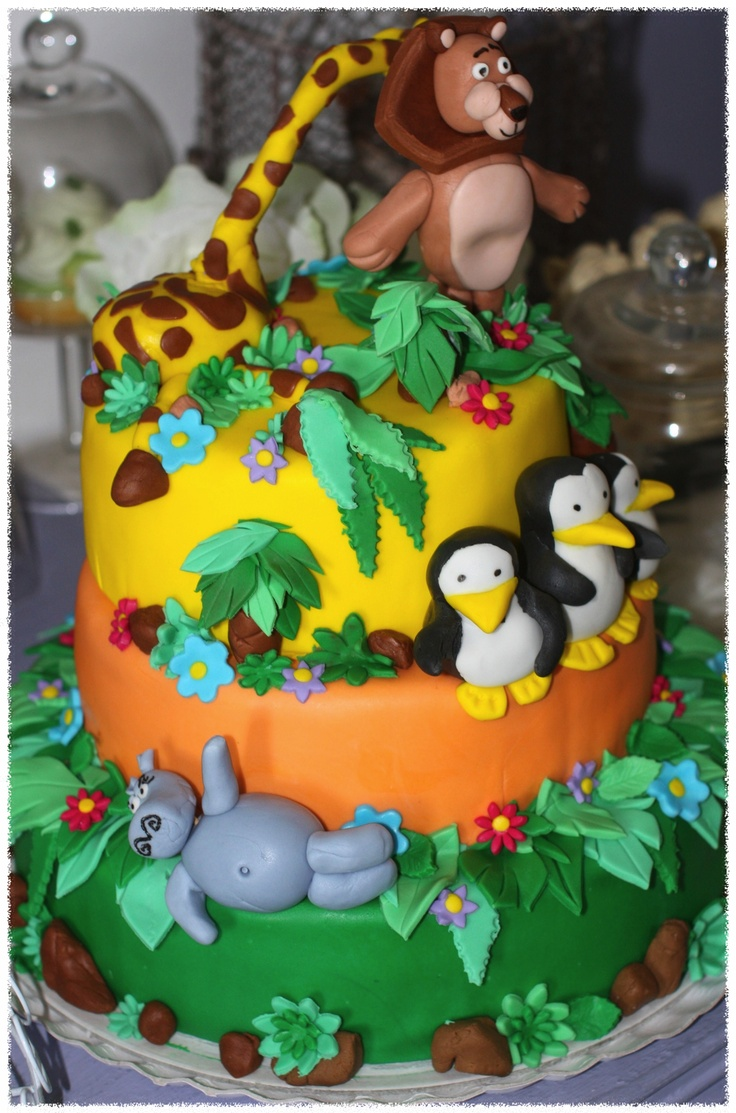 Madagascar Birthday Cakes
