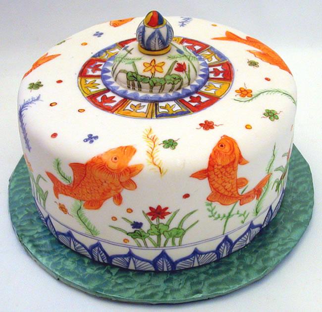 Chinese Birthday Cakes