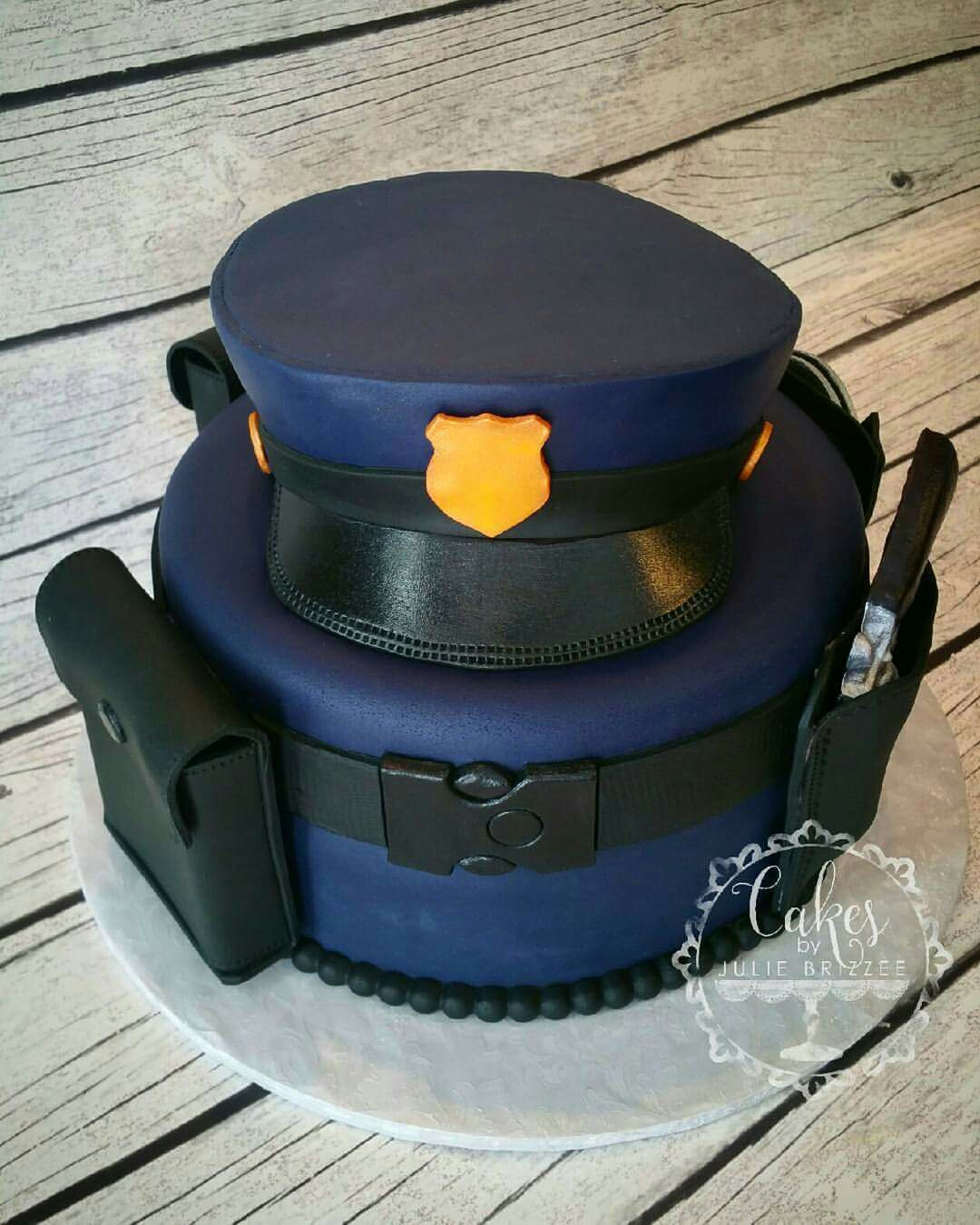 Police Officer Cake I Made That Sold At The Idaho F S