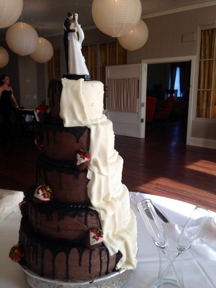 Fudge Wedding Cakes