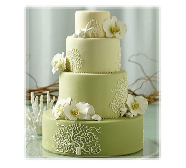 Pistachio Wedding Cakes
