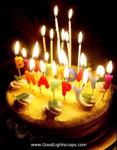 Candle Birthday Cakes