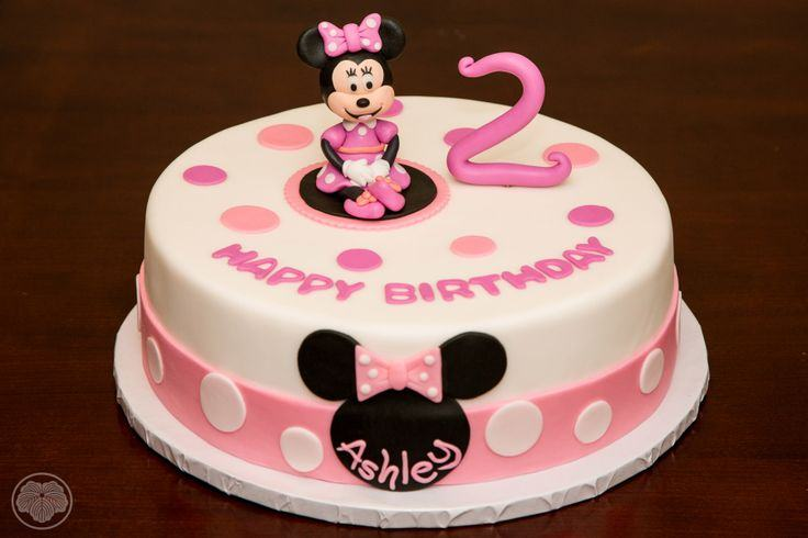 2 Years Old Birthday Cake A
