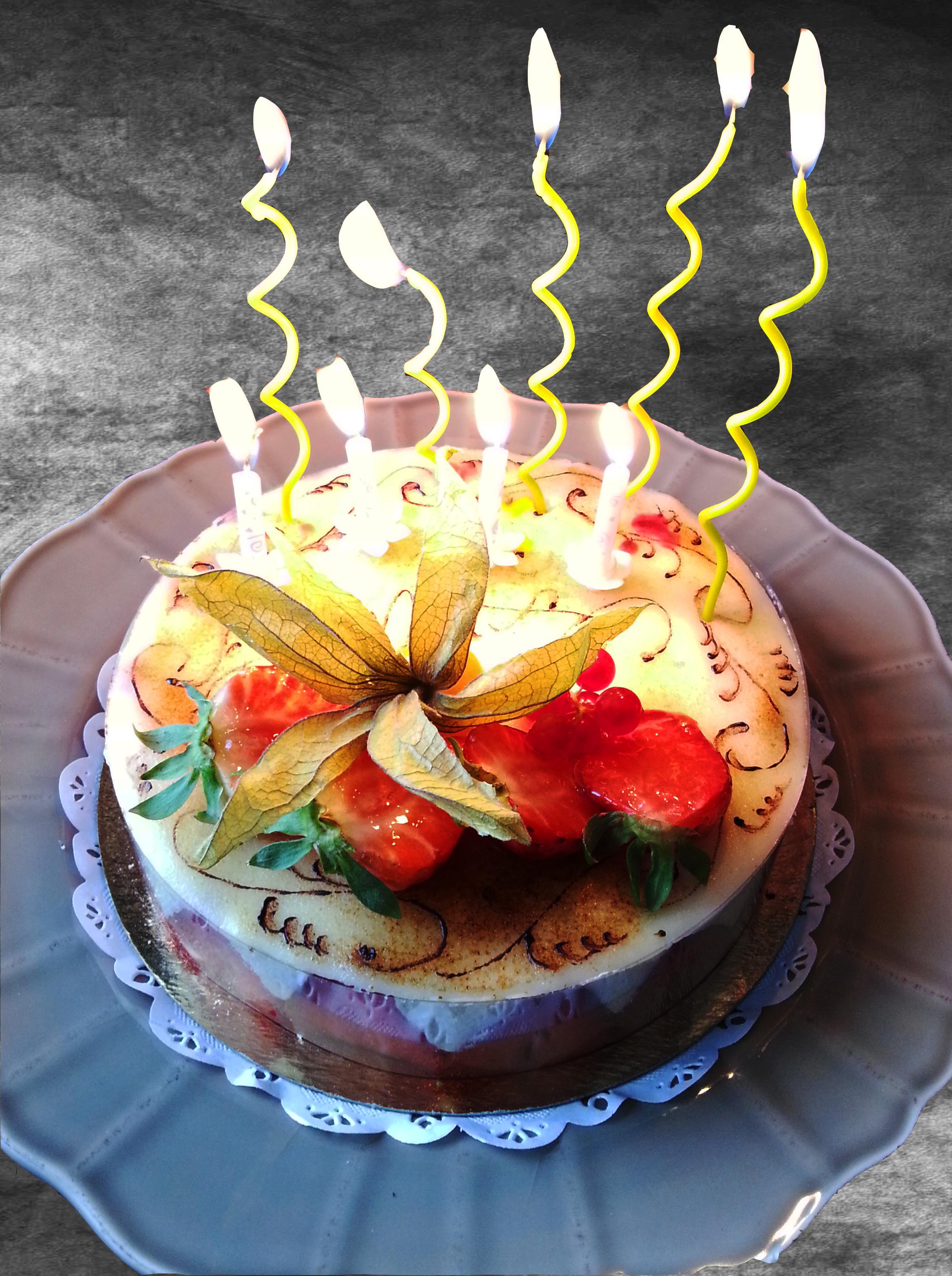 Pastry Birthday Cakes