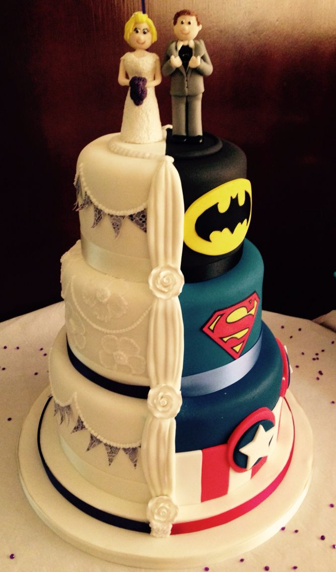 Marvel Wedding Cakes