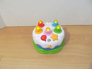 LEAPFROG COUNTING CANDLES BIRTHDAY CAKE AGE 12 MONTHS EBay