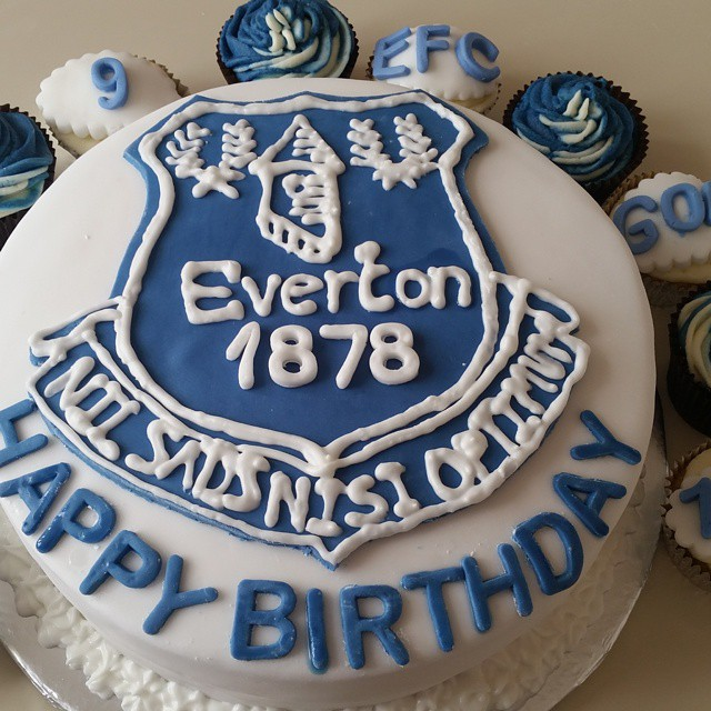 Everton Birthday Cakes