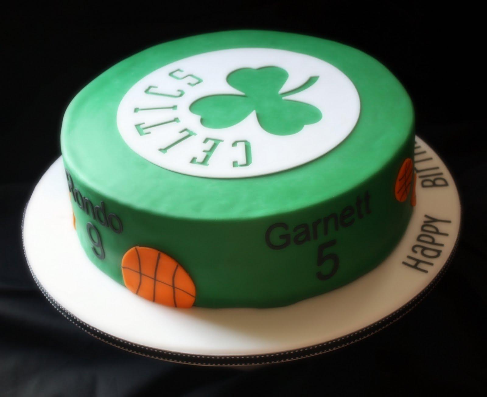 Boston Celtics Birthday Cake Easy Decorated