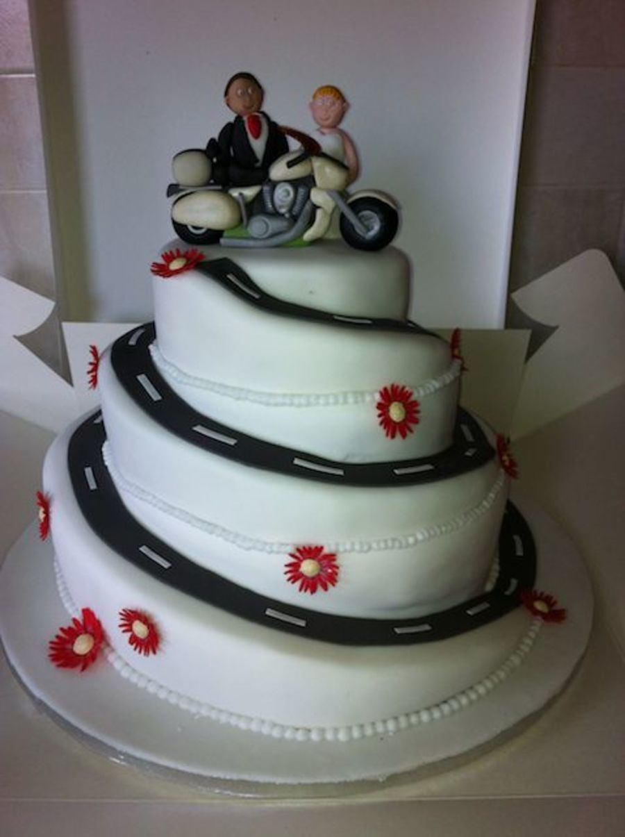 Bike Wedding Cakes