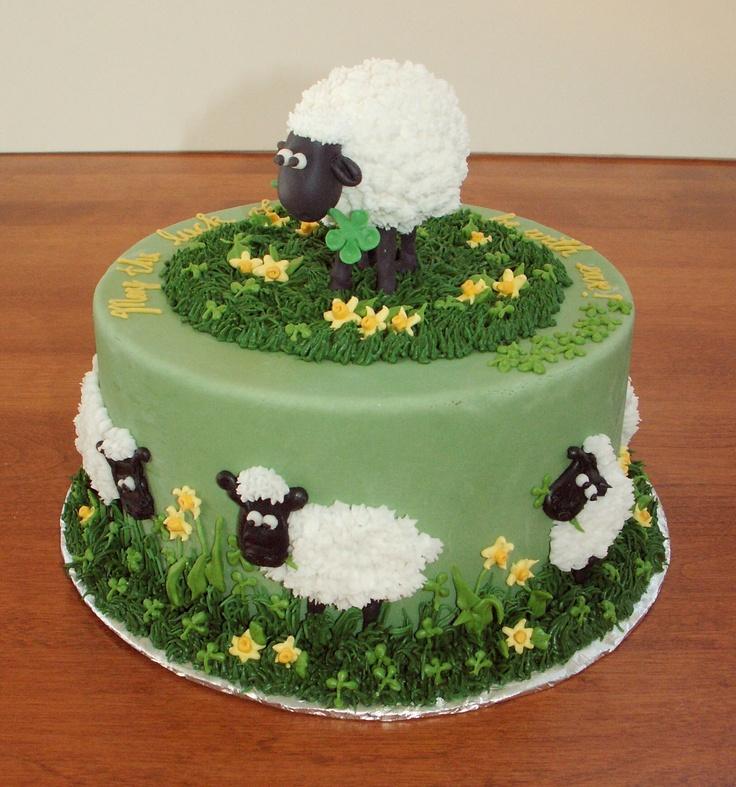 Lamb Birthday Cakes