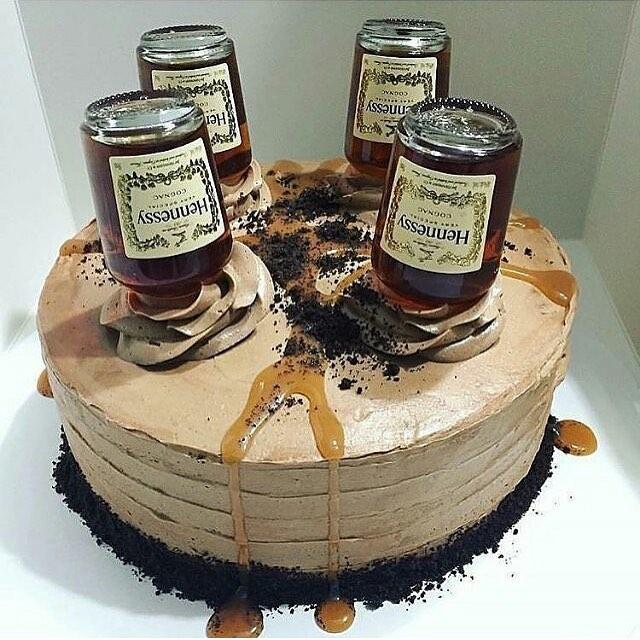 Hennessy Birthday Cakes