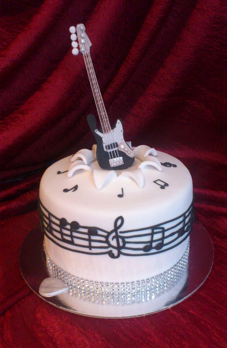 Best 25 Guitar Cake Ideas On Pinterest Music Cutter