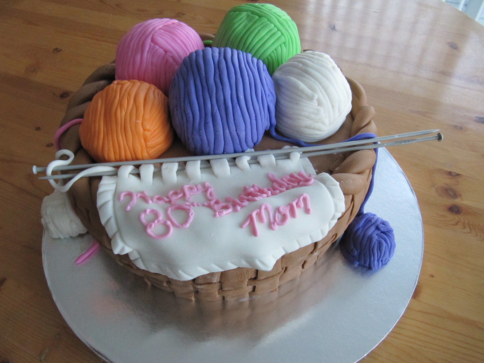 Yarn Birthday Cakes