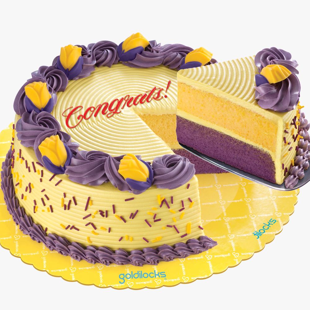 Ube Birthday Cakes