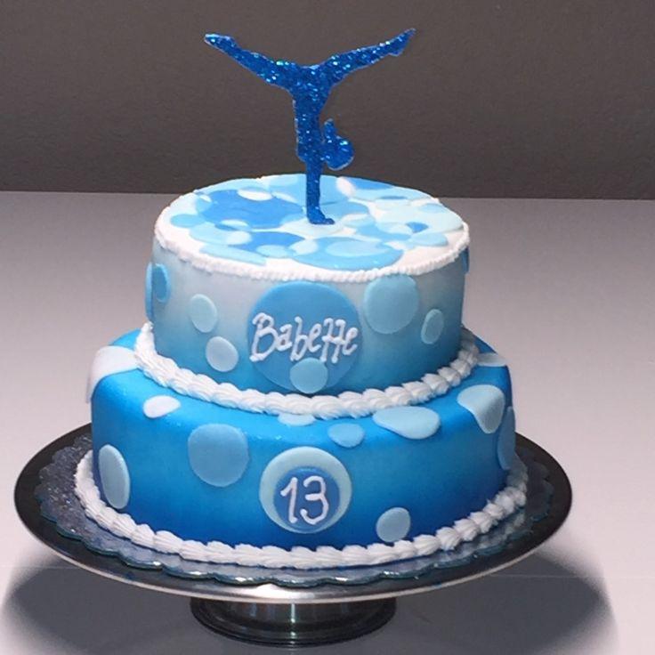 Gymnastics Birthday Cakes