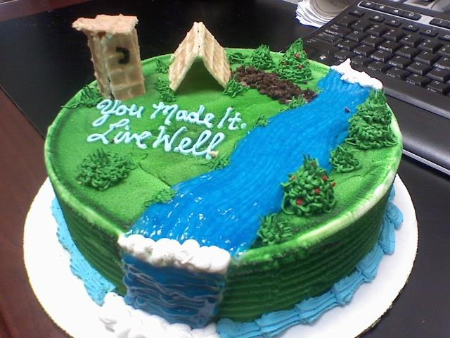 Nature Birthday Cakes