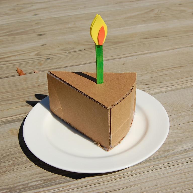 Cardboard Birthday Cakes