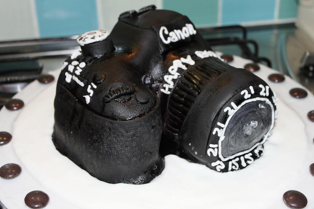 Photographer Birthday Cakes