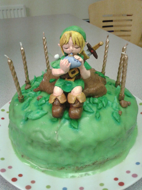 Zelda Birthday Cakes
