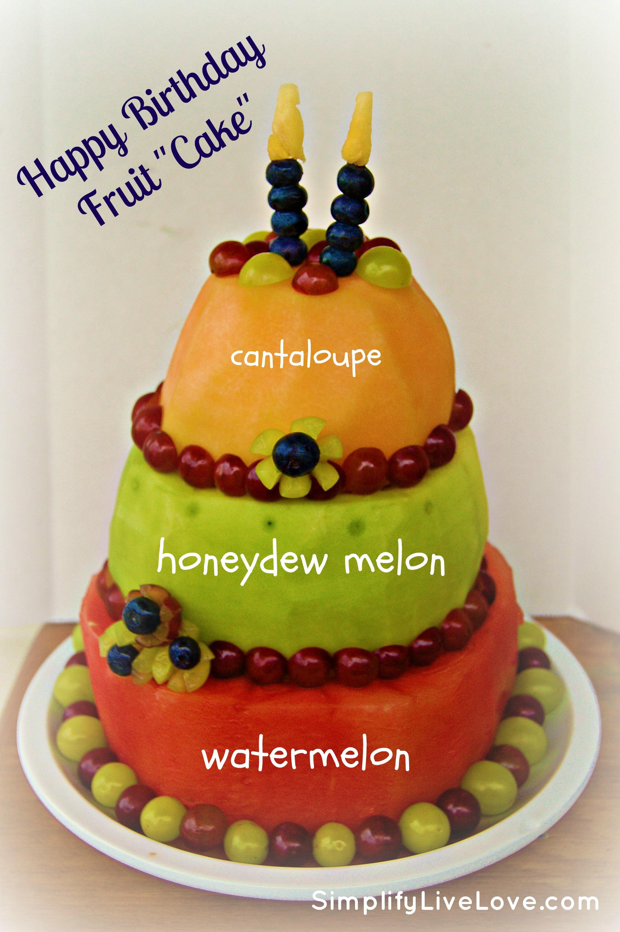 Healthy Birthday Cakes