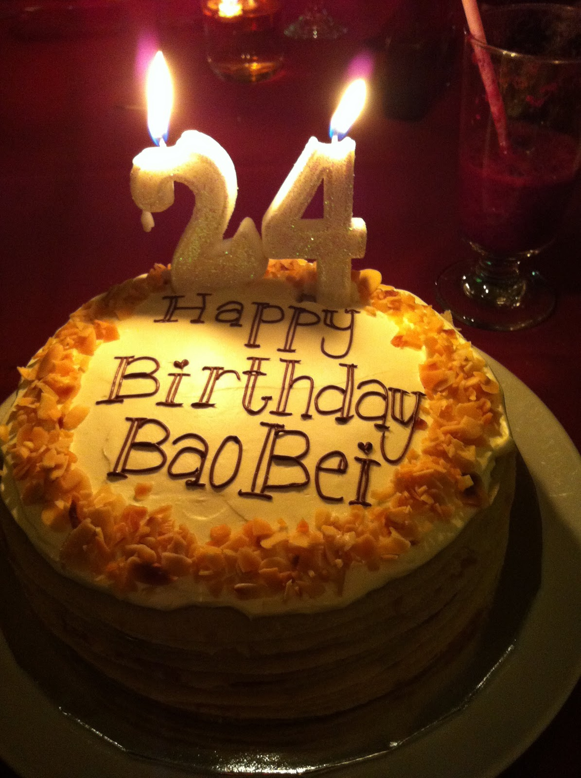 24th Birthday Cakes