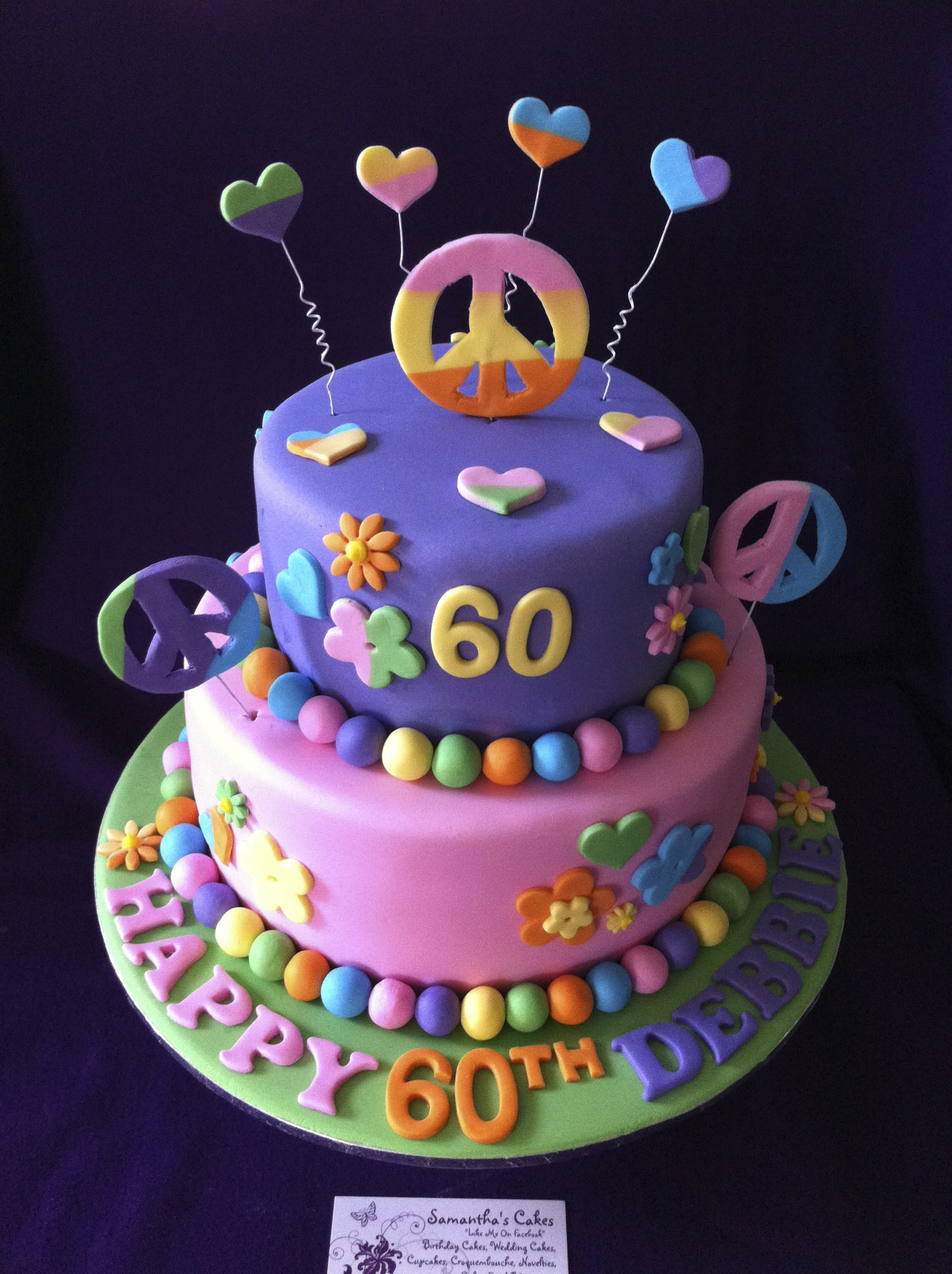 Hippy Birthday Cakes