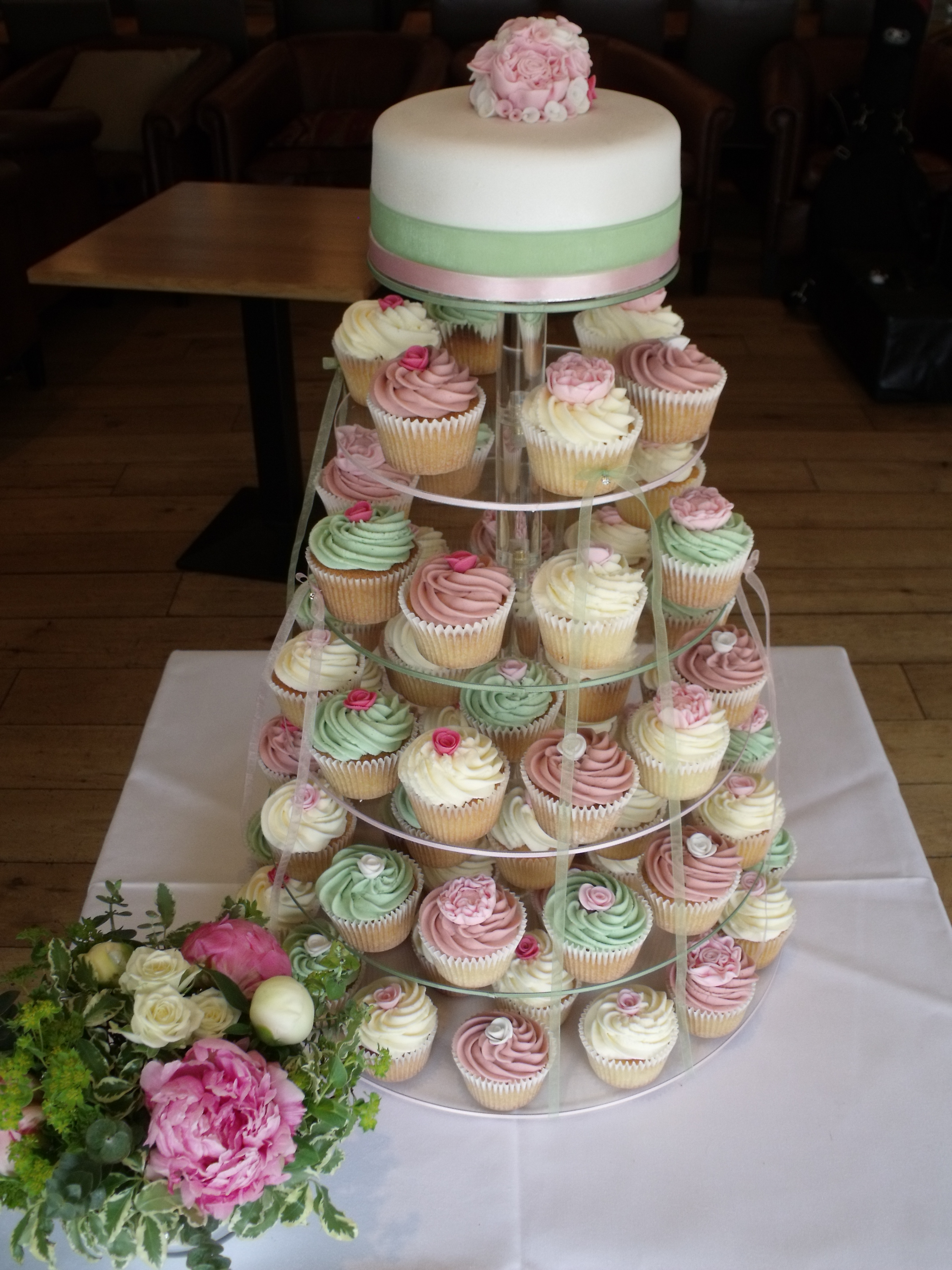 Muffin Wedding Cakes
