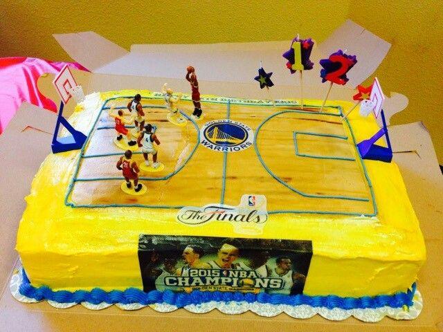 Warriors Birthday Cakes