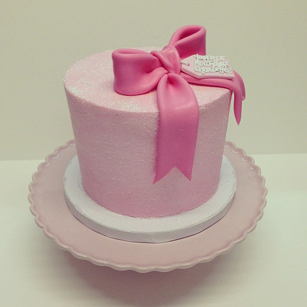 Glittery Birthday Cakes