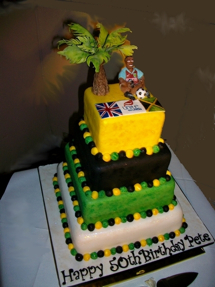 Jamaican Birthday Cakes