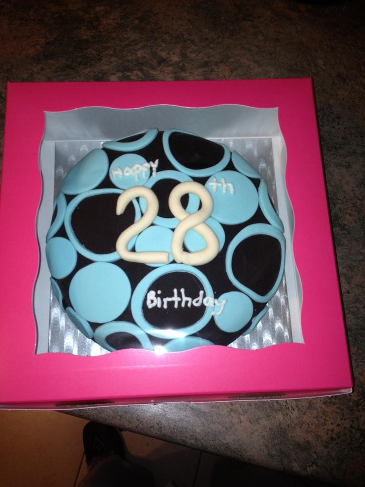 Tanyas 28th Birthday Cake My Pinterest