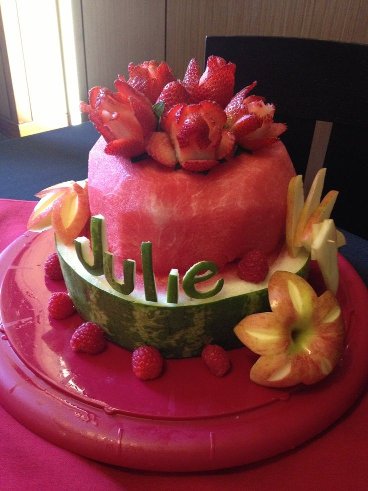 Watermelon Wedding Cakes