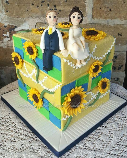 Battenburg Wedding Cakes
