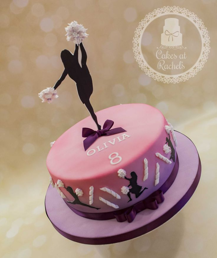 Cheerleader Birthday Cakes
