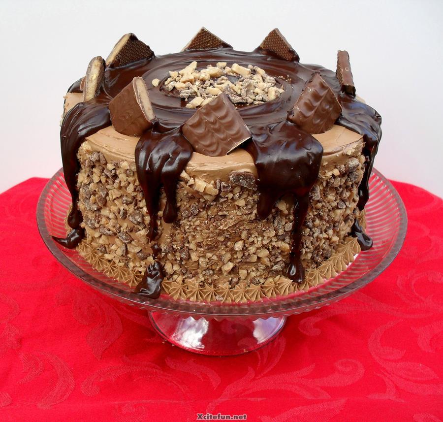 Choc Birthday Cakes