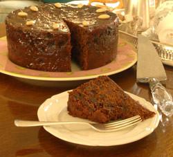 Irish christmas cakes irish christmas cake traditional food recipe ireland forumfinder Image collections