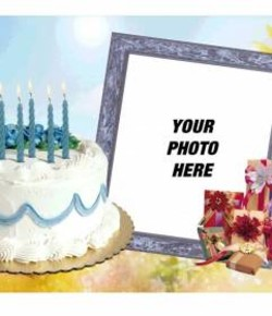 Photofunia birthday cakes m4hsunfo